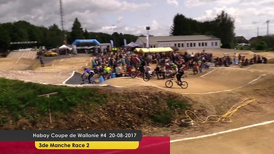 video Habay Coupe de Wallonie #4 20-08-2017  3de Manche