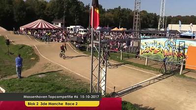 video Massenhoven Topcompetitie #6 15-10-2017 Blok 2 3de Manche