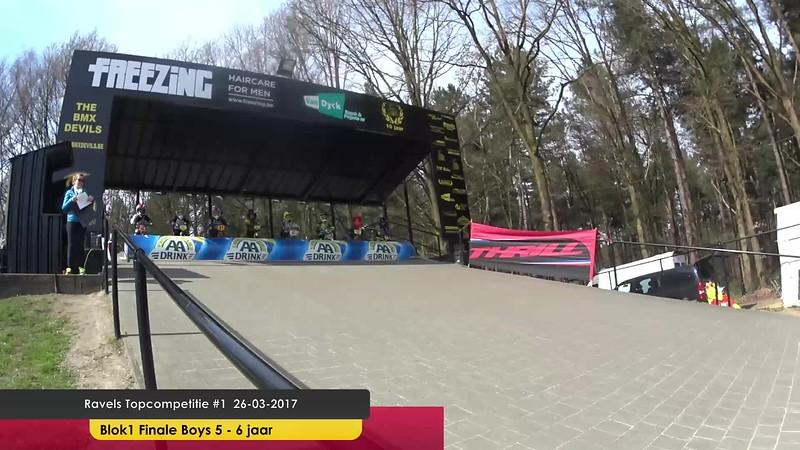 Ravels Topcompetitie #1  26-03- 2017 Blok1 Finale Boys 5-6jaar - 26 maart 2017 - 10-56-10