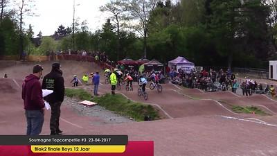 video Soumagne Topcompetitie #3 23-04-2017 Finale Blok 2
