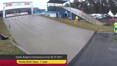 video Zolder Belgisch Kampioenschap 02-07-2017 Finales Blok1