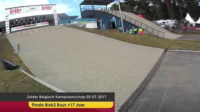 video Zolder Belgisch Kampioenschap 02-07-2017 Finales Blok2