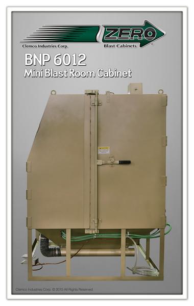 BNP 6012 Blast Cabinet