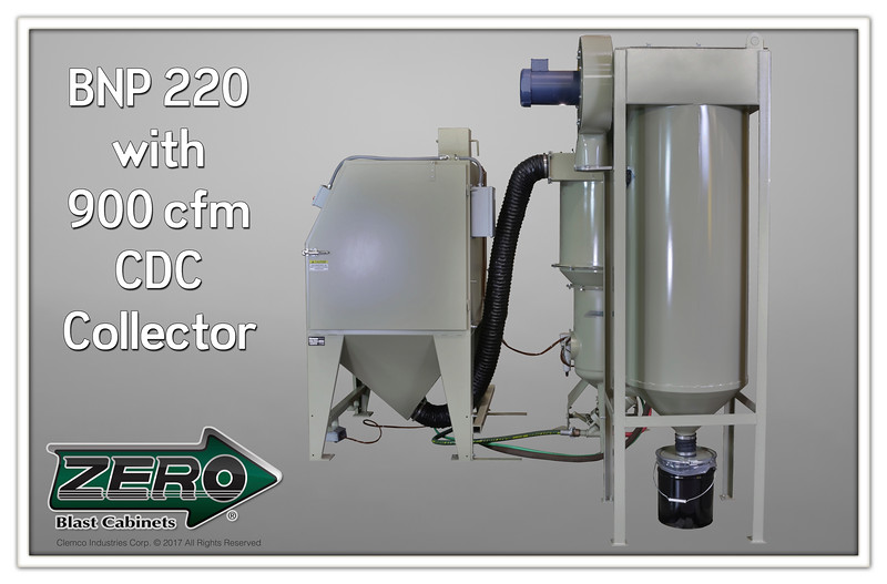 ZERO BNP 220P with 900 com CDC Collector