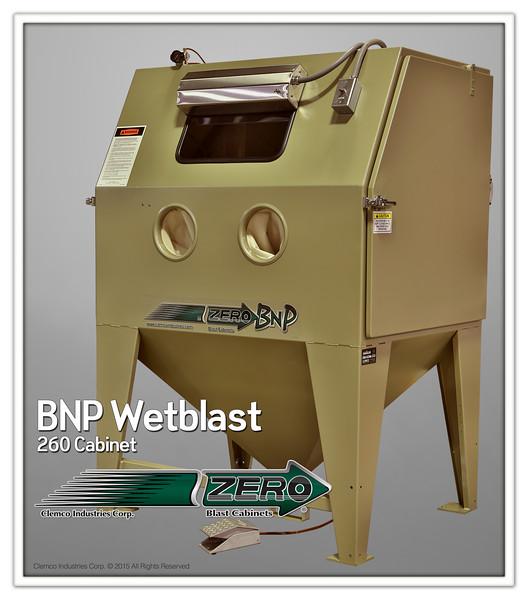 BNP 260 Wetblast Cabinet