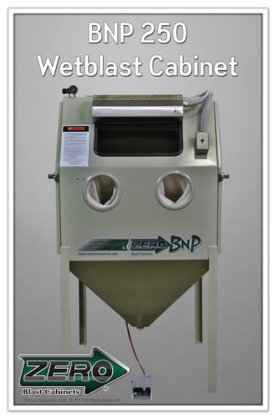 ZERO BNP 250 Wetblast Cabinet