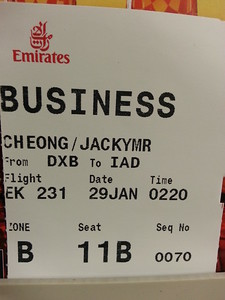 Emirates Airlines - it's just Business...