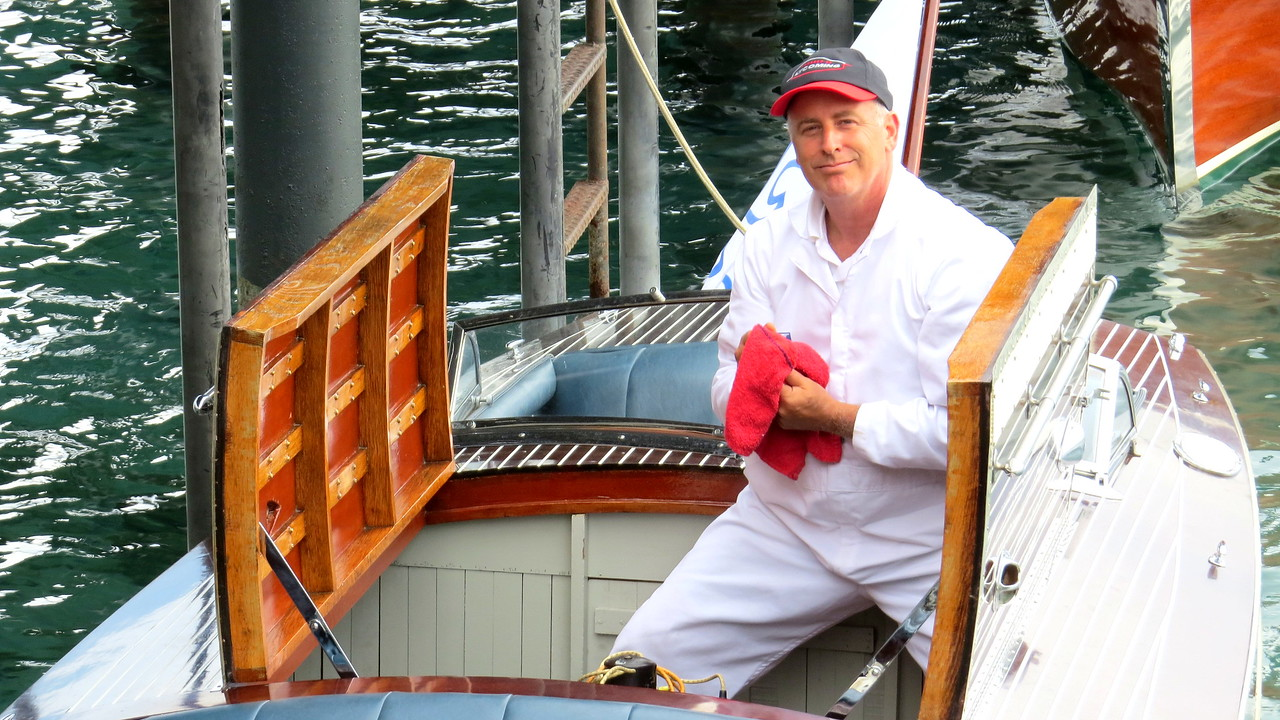 Dave Triano - Chambers Landing Boat Races 2015