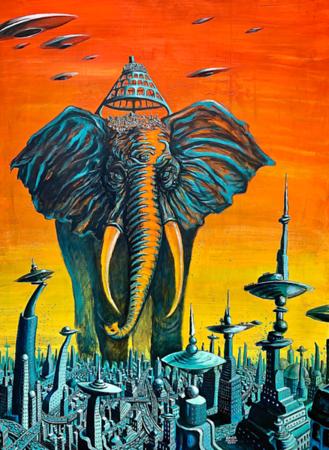 THIRD EYE ELEPHANT