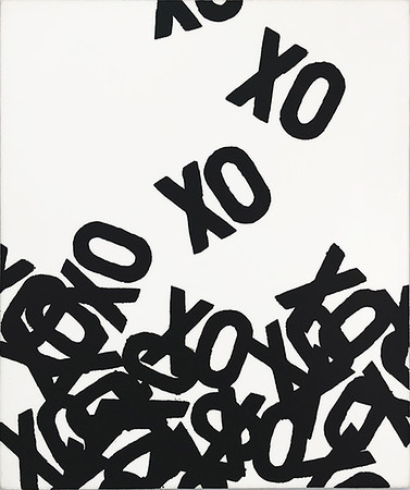 Falling XOs (black)