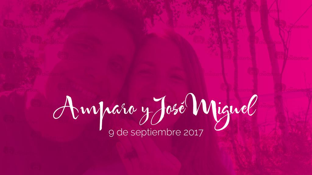 Amparo y José Miguel - 9 de septiembre