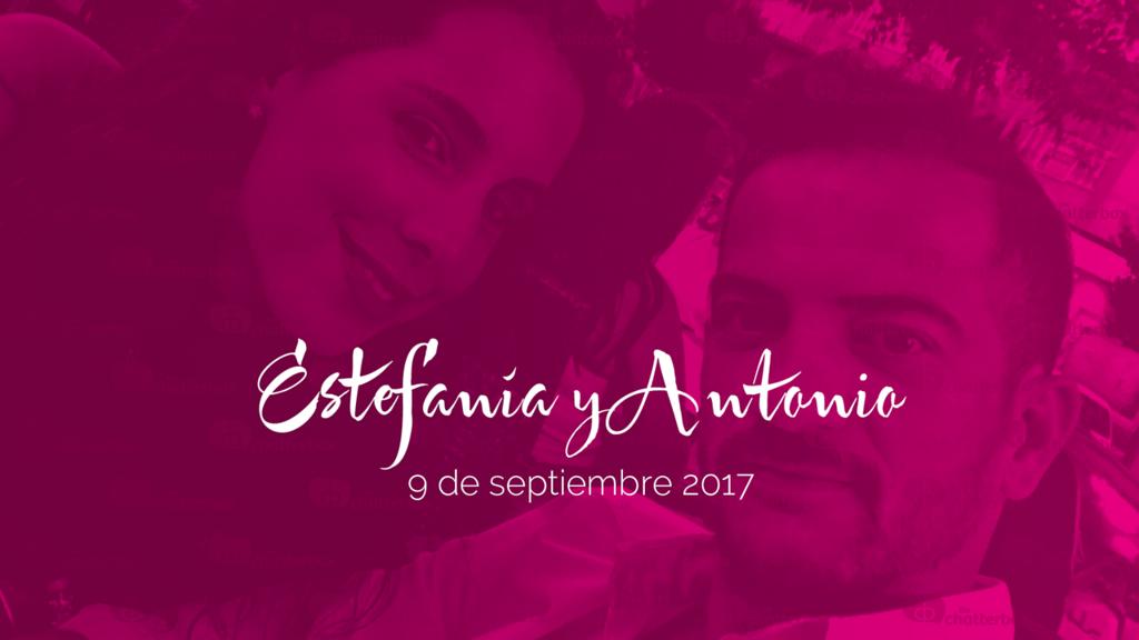 Antonio y Estefanía - 9 de septiembre