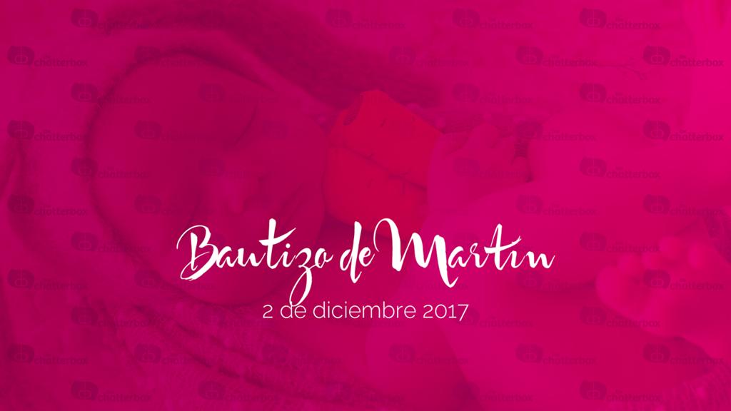 Bautizo Martín