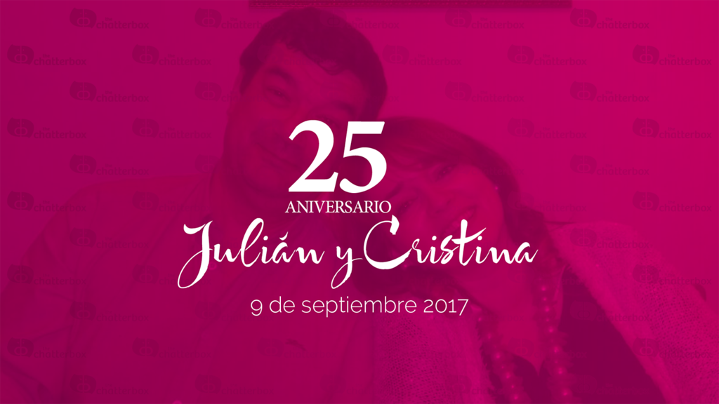 Cristina y Julián - Bodas de Plata - 9 de septiembre