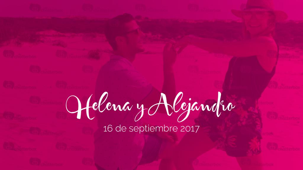 Helena y Alejandro