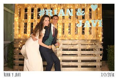 Rian & Javi 07.07.2018 Finca Los Aljibes, Albacete