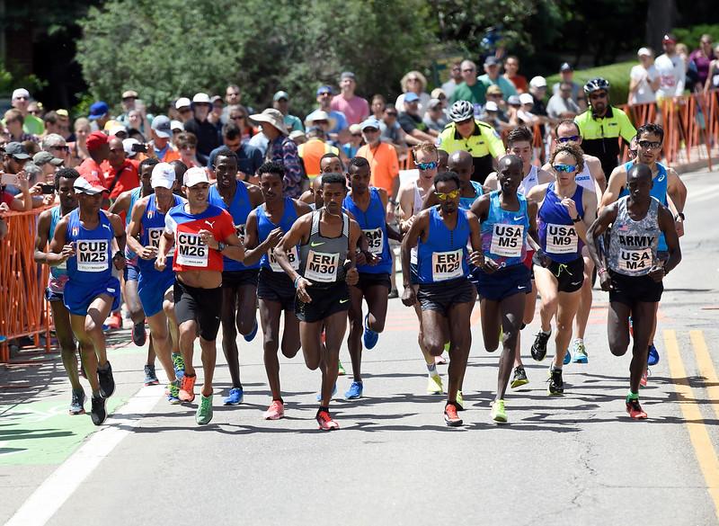 Bolder Boulder Men's Elite Race