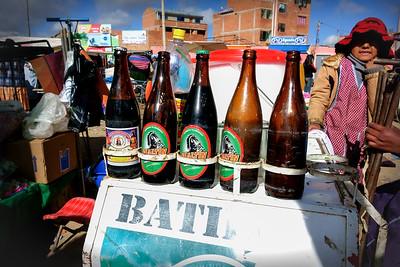 009 Market on the road to Oruro Bolivia © David Bickerstaff