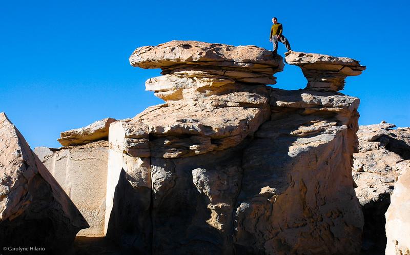 Desert of Siloli <br /> Salar de Uyuni (Uyuni Salt Desert)