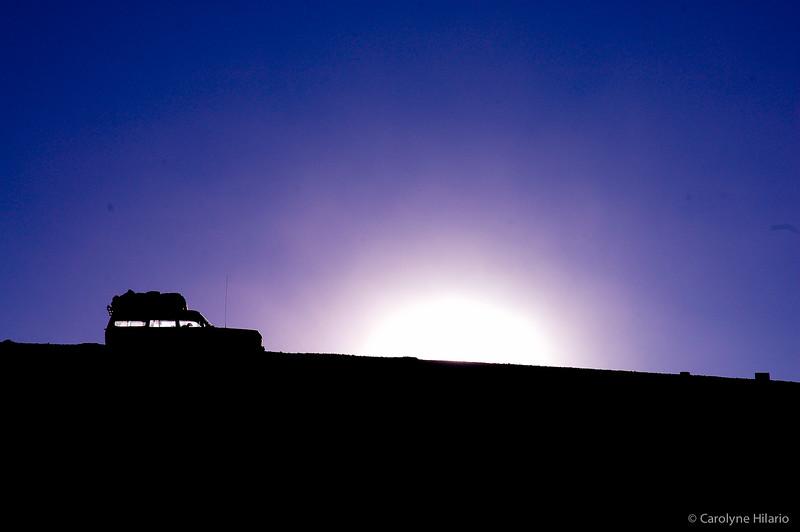 Desert Sunset<br /> Salar de Uyuni (Uyuni Salt Desert)