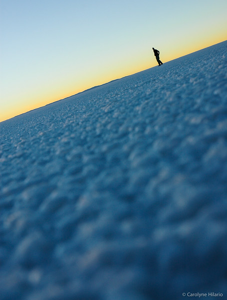 Sunrise Over Salt<br /> Salar de Uyuni