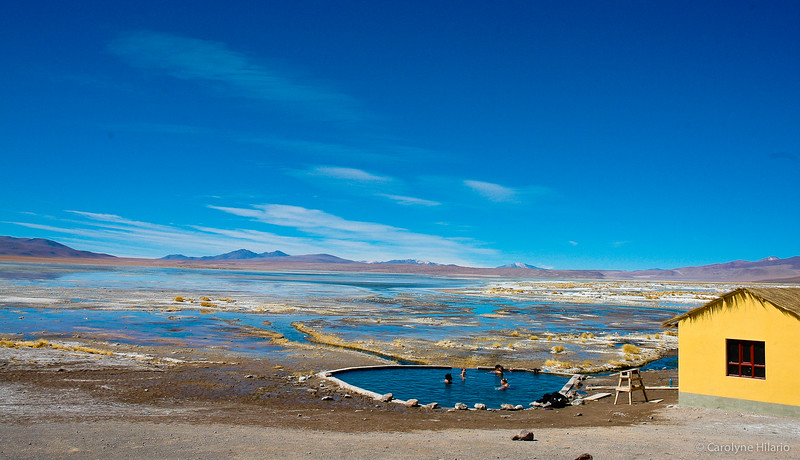 Thermal Bathing<br /> Salar de Uyuni (Uyuni Salt Desert)