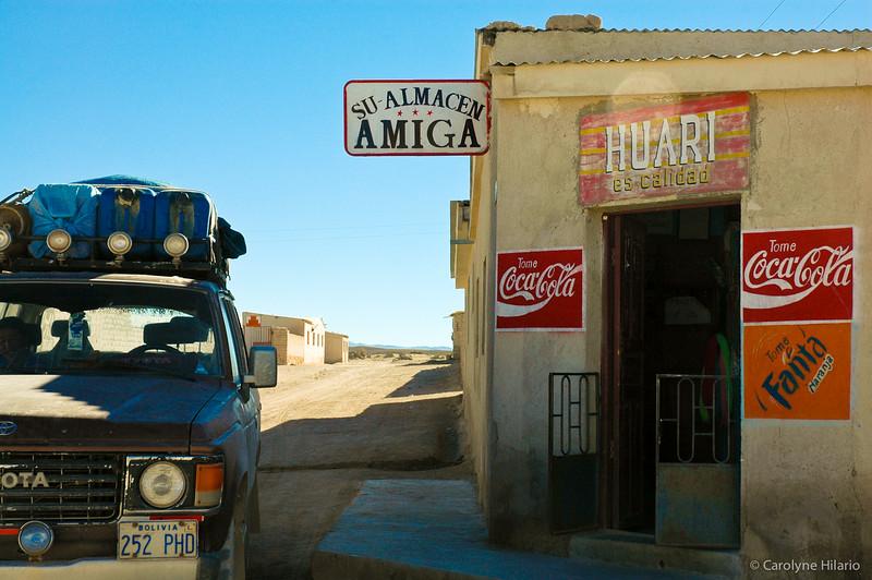 Almacen<br /> Salar de Uyuni (Uyuni Salt Desert)
