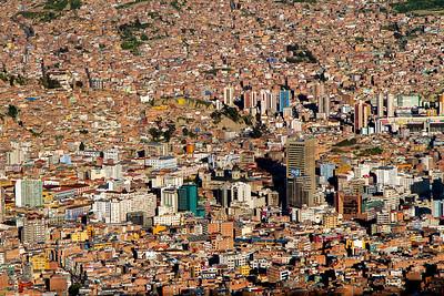 002 La Paz Bolivia © David Bickerstaff