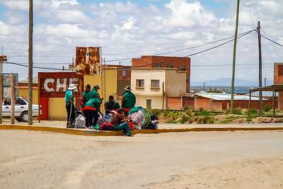 022 Road to Oruro Bolivia © David Bickerstaff