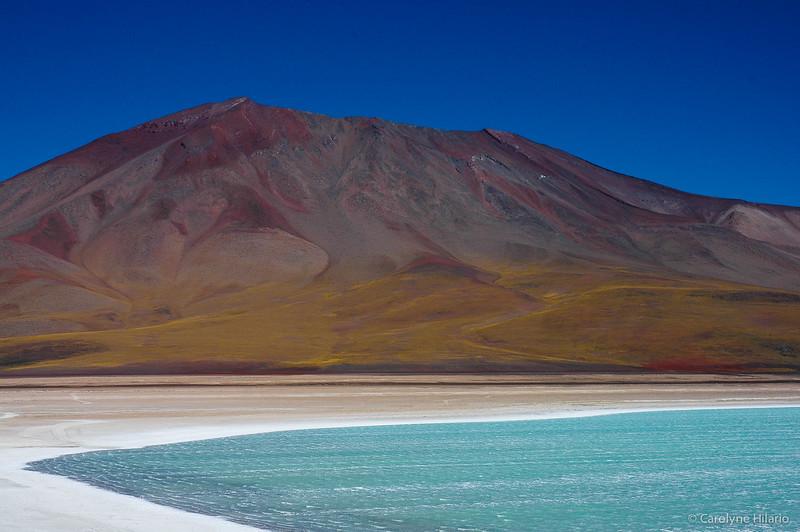 Laguna Verde<br /> Salar de Uyuni (Uyuni Salt Desert)