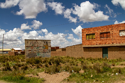012 Road to Oruro Bolivia © David Bickerstaff
