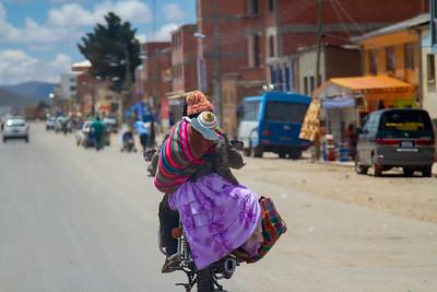 025 Road to Oruro Bolivia © David Bickerstaff