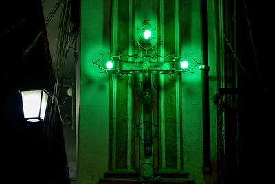 004 Crucifix La Paz Bolivia © David Bickerstaff