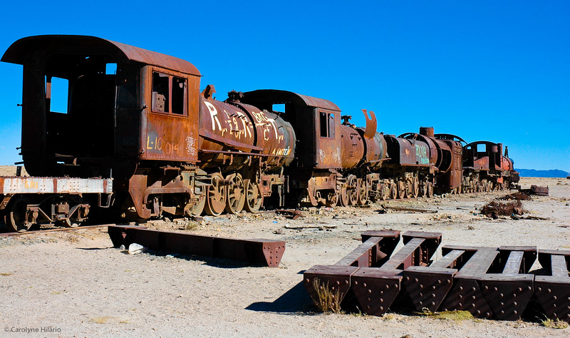 Train Graveyard<br /> Salar de Uyuni