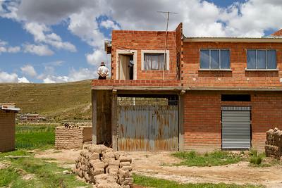 019 Road to Oruro Bolivia © David Bickerstaff