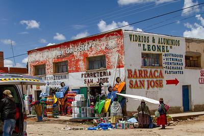 24 Road to Oruro Bolivia © David Bickerstaff