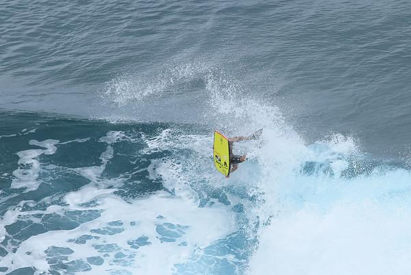 Body Boarding, Honolua Bay