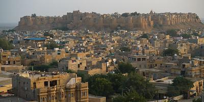 Golden Jaisalmer Fort