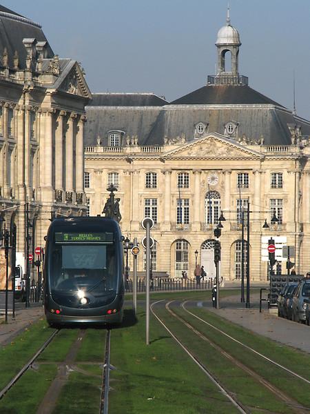 Tram  -  Bordeaux  -  France