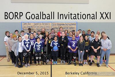 21st Annual Goalball Invitational 2015