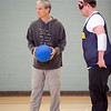 Volunteers (some of whom have been volunteering for BORP and goalball for over 17 years) assist the game when the ball is not in play by placing the ball back on the court and guiding players to neutral positions during penalty throws.