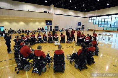 US National Power Soccer Team Selection Camp Thursday 09