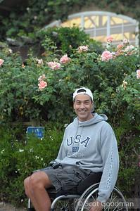 Trooper Johnson, BORP's Youth Sports Program Coordinator and World Class Athlete.