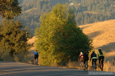 Lytton Springs Road. The first 15 minutes of the 100 mile route.