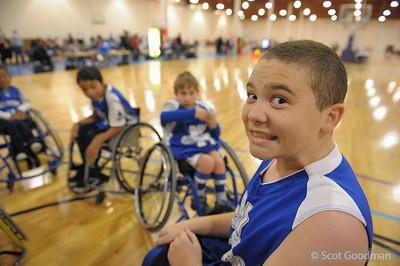 Youth Wheelchair Basketball Jan 2012