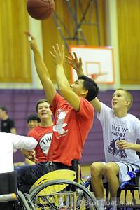 Piedmont HS Roll and Shoot Nov 2013. Photo ©Scot Goodman.