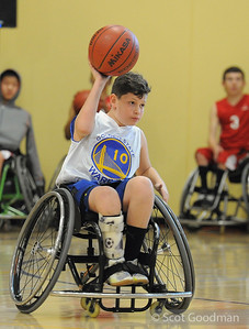 Northern California Regional Jr. Wheelchair Basketball January 2014