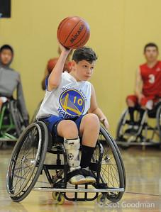 Northern California Regional Jr. Wheelchair Basketball January 2014