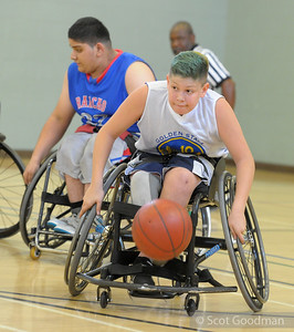 2015 Bay Area Invitational Junior Wheelchair Basketball