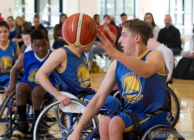 West Coast Invitational Wheelchair Basketball Tournament, Stanford University, Saturday, January 26, 2019. Photos Copyright Scot Goodman.